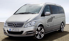 Mercedes Benz viano---With an emphasis on elegance and luxury our uniformed chauffeurs and immaculately presented cars cannot fail to impress